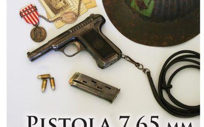PISTOLA 7,65mm SAVAGE – 2 EDIÇÃO